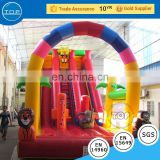 TOP INFLATABLES Multifunctional super jumping inflatable water slide clearance