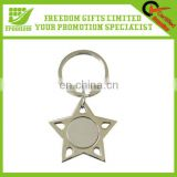 Hot Item Custom Metal Silver Key Chain