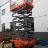 2 Post Vehicle Lift 14m Movable Scissor Lift Indoor , Outdoor