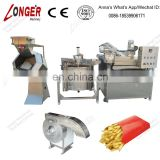 Automatic Discharging french fries production line