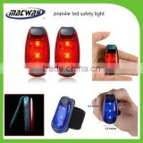 Alibaba Express China LED Safety Light with Clip And With Belt