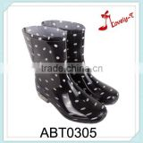 splashy cheap fashion kids rain boots
