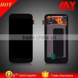 china alibaba repair parts touch digitizer lcd for samsung galaxy s6 edge LCD display with OEM lowest price