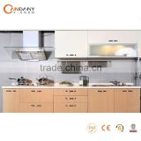 Foshan factory direct fashionable kitchen cabinet,kitchen water heater tap