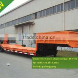 50T low bed semi trailer low bed loader trailer 0086-13635733504