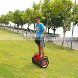 Red 2 wheel scooter drift board Hands Free Electric Mobility Scooter 2 Wheels Self Balance Personal Transporter