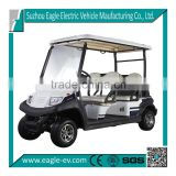 CE cerificated battery operated 4 seater electric aluminum golf cart