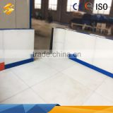 wholesale price of wear resistance self lubricating uhmwpe synthetic sheet ice rink uhmw-pe board