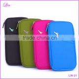 Polyester Multifunction Credit Card Package ID Holder Travel Storage Bag lady wallet