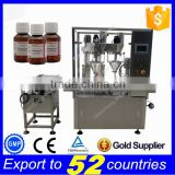 Automatic 2 nozzles higher speed 30g powder filling and capping machine for bottle                                                                         Quality Choice