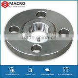 Stainless Steel BS4504 code 113 hubbed threaded flange