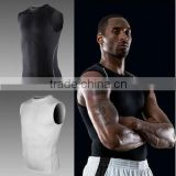 FIXGEAR Compression Men Training Tight Shirt Weight Lifting Base Layer Running Bodybuilding Vest Fitness 2014 New 1002
