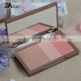 Face glitter blush packaging compact powder case make up cosmetics