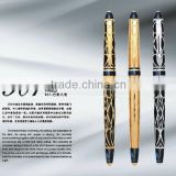 Picasso 901 Fountain Pen, Gold-plating with carved Calligraphy Ink Fountain Pen