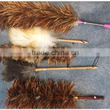 TEN soft floss ostrich feather dusters