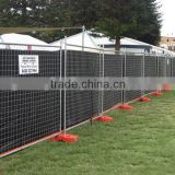 Multifunctional galvanized steel pipe fence for wholesales