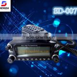 digital ham radio mobile transceiver, dual band or tri band mobile radio with 20-50km talk range