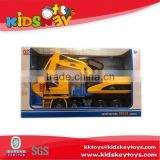 hot selling friction car excavator toy plastic truck toy truck toy