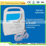 Medical emergency biphasic AED defibrillator price (MSL-8000A)