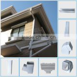 Plastic materials Wanael 5.2inch, 7inch Gutter Cleaning, square Plastic Rain Kenya PVC Gutter