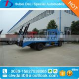 right hand drive cummins engines DONGFENG 4*2 flatbed cargo truck