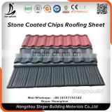 High Quality Guaranteed Environment Friendly Natural building material stone coated roof tile
