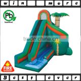 custom cheap commercial outdoor water slide park prices, inflatable used trampoline for kids birthday party games