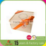 Wholesale small elegant unique gift wooden box