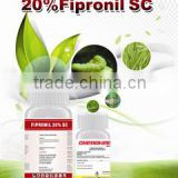 Chemical Fipronil spray,insecticide fipronil 20%SC,fipronil 80%WDG
