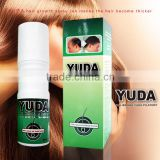 ODM /OEM Strong Version 60ML X 3 bottles YUDA hair growth supplements 100% natural hair growth                                                                                                         Supplier's Choice