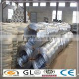 Hot dipped galvanized steel wires in coils/GI steel wires with prime quality factory supply