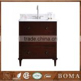 Hot Sale in North America Solid Wood 30 Inch bathroom Vanity Cabinets