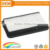 High quality 13780-63J00 suzuki swift air filter with rubber