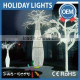 Led outdoor light tree with nice quality outdoor led tree fancy led christmas tree light chain for sale