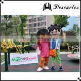 "Carton Character ""L"" size adult Diego and Dora mascot costume for festival dress"