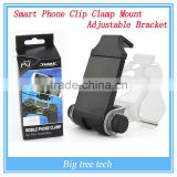 New!!! PS4 Black Smart Phone Clip Clamp Mount Adjustable Bracket Handset For Samsung LG Android Holder For Sony PS4 Controller
