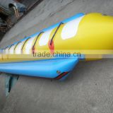 Cheap Price 12 person single tube inflatable flying Banana Boat Speedboat Pulled