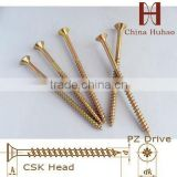 chipboard screw fiber screw carbon steel DIN7505 wood screw decking screws mild steel screw decorative screws