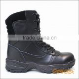 Genuine leather most comfortable protective boot geox army boots security guard leather shoes factory SA-8303