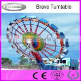 factory product Thrill amusement park freak out rides brave turntable for sale with high quality