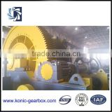 Heavy duty large marine winch gearbox with marine diesel engine supplier transmission part