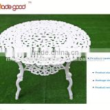 white lacquer round dining wooden table