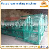Fiber cotton rope making machine , PP rope making machine for sale