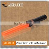 Warning zoom focus police led traffic baton torch led traffic signal light