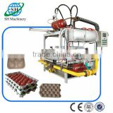 Paper fruit tray production line with CE approved / new product fruit tray making machine