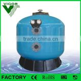 2015 Top selling Factory Large Fiberglass Side Mount Deep Bed Sand Filter For Swimming Pool Industrial Used