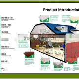 Architectures material composite wall panel insulation boards fire resistant decorative wall panel