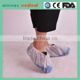 FDA arrpoved factory Aimmax cheap price Factory price Medical Surgical PP+pe disposable anti slip shoe cover