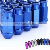 20PCS HIGH QUALITY ALUMINUM EXTENDED TUNER LUG NUTS/WHEEL NUT WITH SPIKE FOR WHEELS/RIMS M12X1.5 /M12X1.25 L:50MM