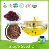 ISO factory organic grape seed oil with fsc